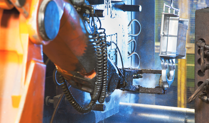 Die-casting machine and mold