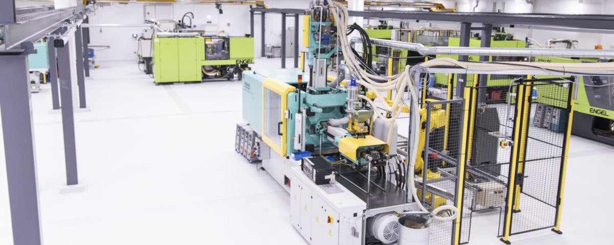 Injection moulding production